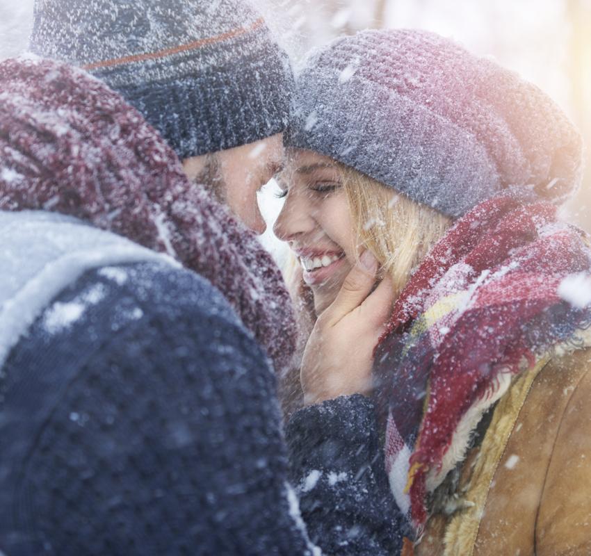 att göra på dejt vinter