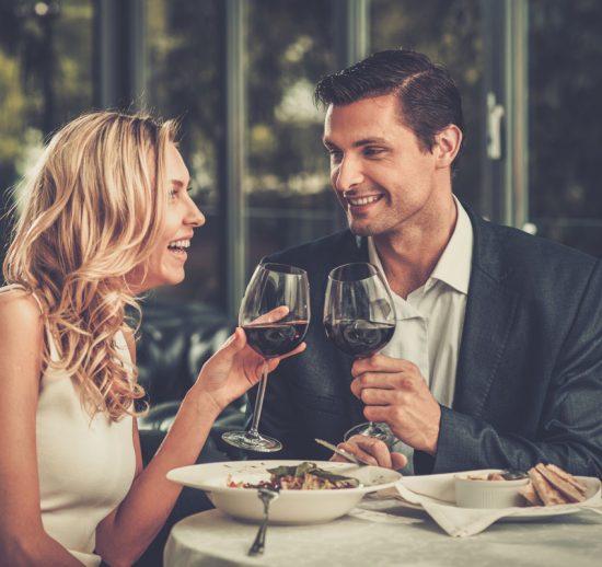 Vad du äter påverkas av din dejts snygghet
