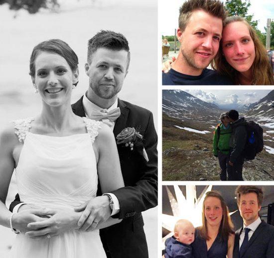 """Nygifta Olof: """"Vilken tur att hoppet inte övergav mig…"""""""