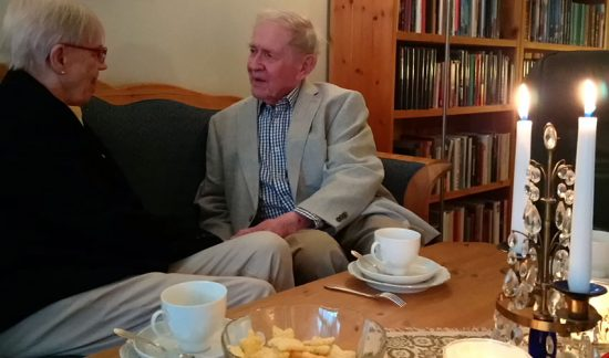 """Bo, 90, och Elin, 81:  """"Vi blev störtförälskade"""""""