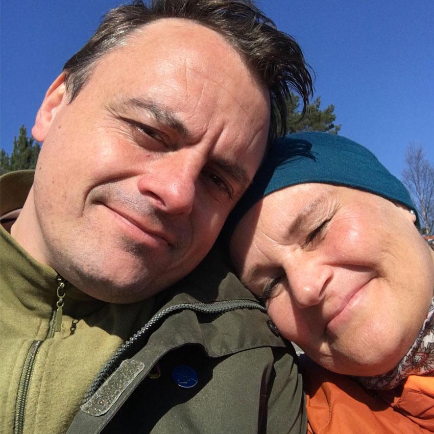 Ann-Kristin mötte kärleken efter cancerbehandlingen
